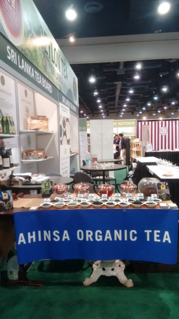 Participating in the World Tea Expo 2017
